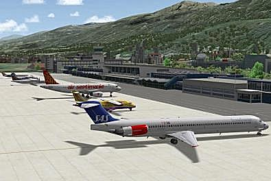 Parked at Innsbruck