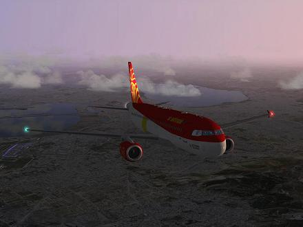 Download OCCITANIA livery for QPAC Airbus A320-232 - F-YMMG