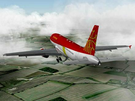 Download OCCITANIA livery for QPAC Airbus A320-232 - F-YMMH