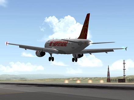 Download RETRO livery for QPAC Airbus A320-232 - F-YMMW